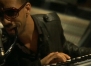 Ryan Leslie in the studio